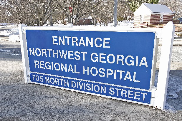 Northwest Georgia Regional Hospital is in Rome, Ga.