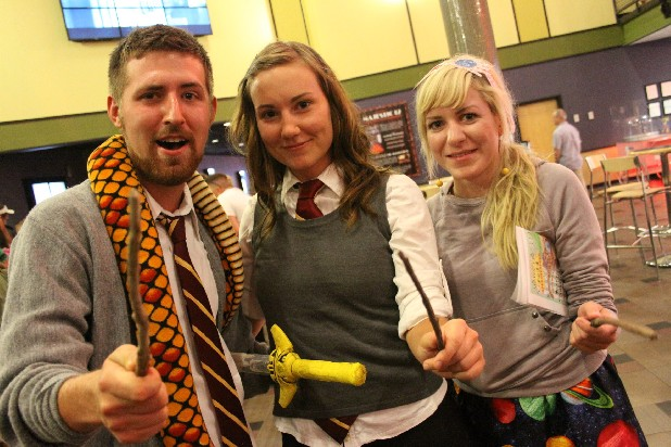 See more Harry Potter premiere photos on the Times Free Press Facebook page.