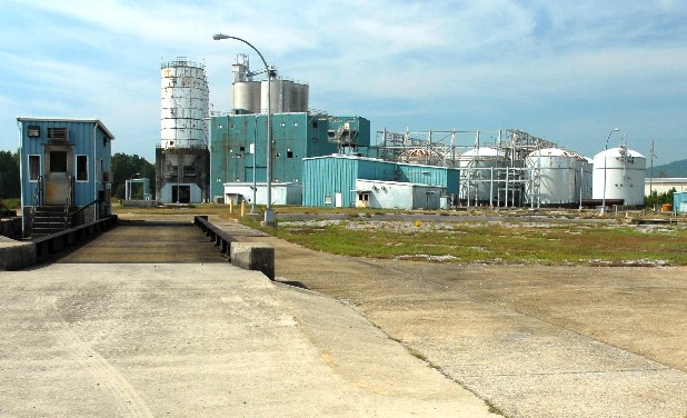 Renewable Fuels LLC, owner of the former Tennol plant near Jasper, Tenn., pictured here in a 2006 photo, is producing a product used to manufacture biodiesel.