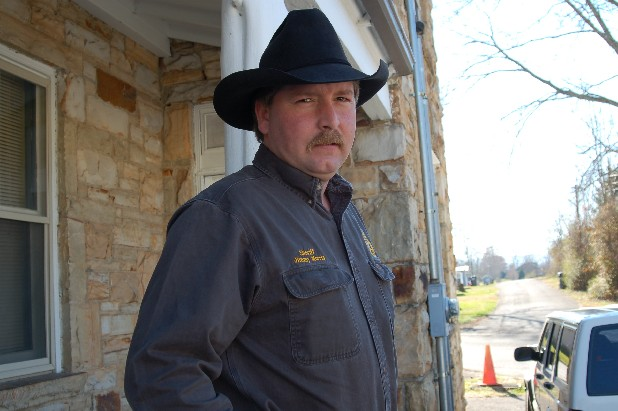 Bledsoe County Sheriff Jimmy Morris