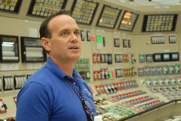 Mike Skaggs, 51, is the head of the utility's nuclear development and construction team.