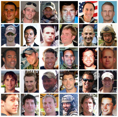 Portraits of Navy SEALs killed in helicopter crash | Times