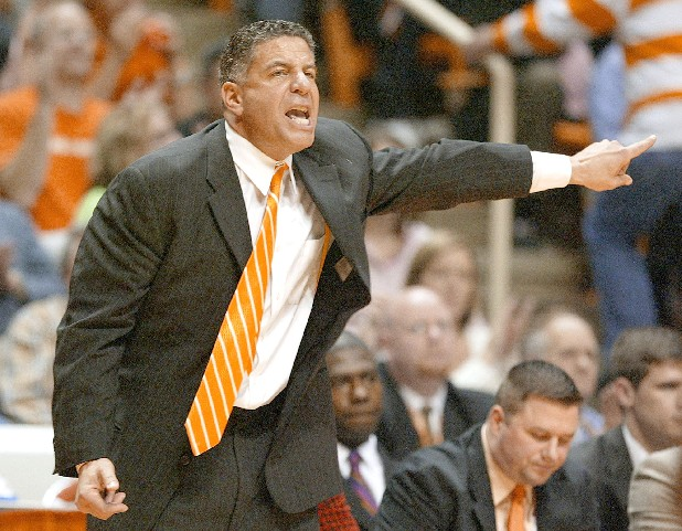 Tennessee coach Bruce Pearl was given a three-year sanction by the NCAA on Wednesday.