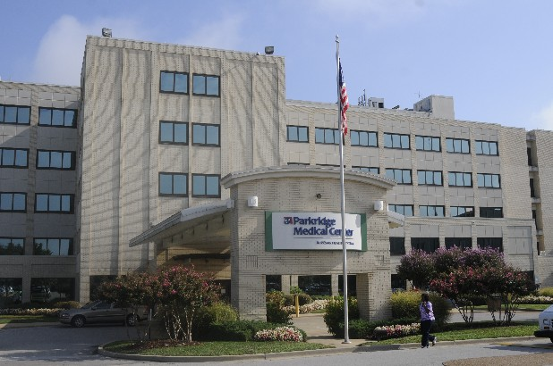 Parkridge Hospital is located on McCallie Avenue in Chattanooga.