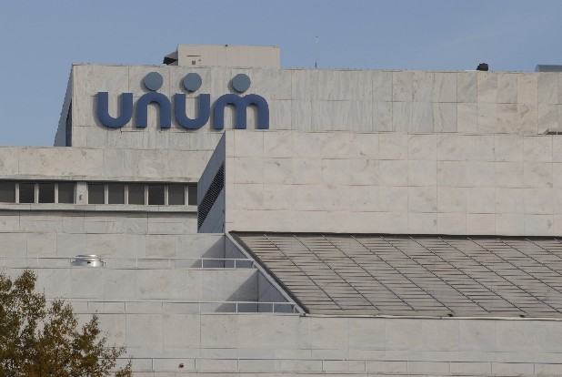 The Unum headquarters in downtown Chattanooga.