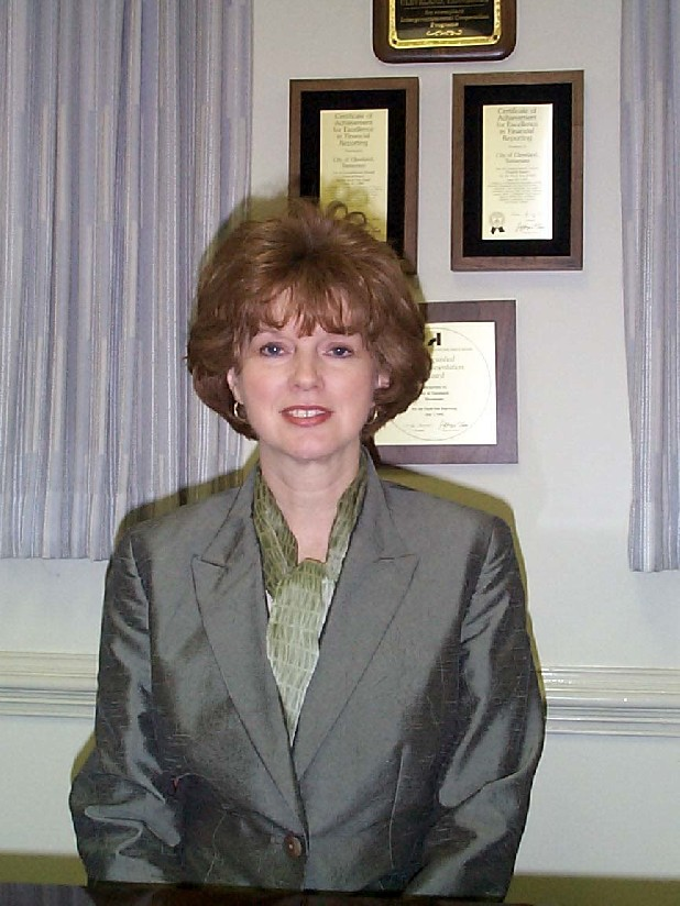Cleveland, Tenn., City Manager Janice Casteel is seen in this file photo.