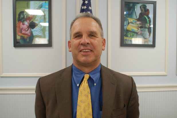 Whitfield County Superintendent Danny Hayes