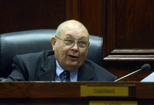 Commissioner Fred Skillern speaks during a Hamilton County Commission meeting in this file photo.