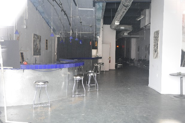 The inside of Mosaic where Club Fathom is located remains empty after the shooting Christmas morning where nine people were injured. Local government is considering shutting down the venue.