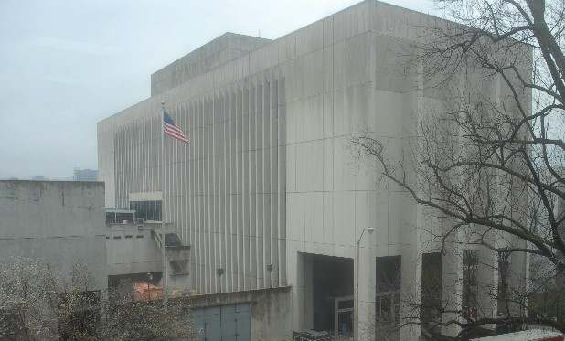 The Hamilton County Jail is seen in this 2008 file photo.