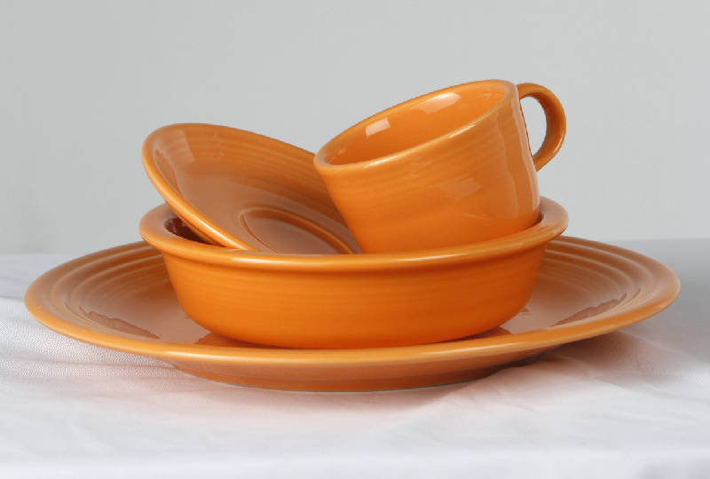 A vibrant shade of orange called tangerine tango has been identifield as Pantoneu0027s 2012 color of the year. Pictured is a dinnerware set by Fiesta. & Tangerine orange identified as color of the year by Pantone | Times ...
