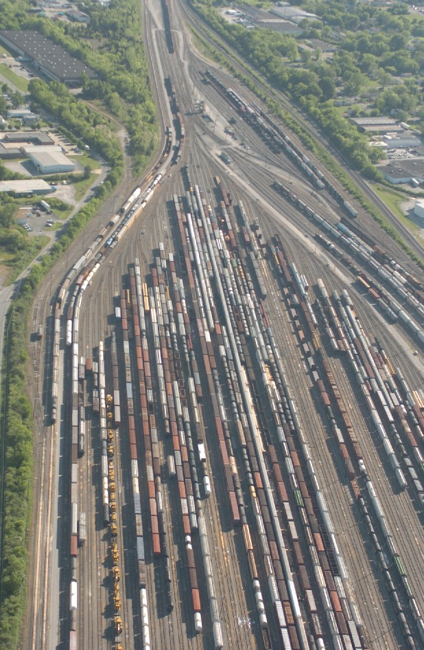 Norfolk Southern's Debutts Rail Yard in Chattanooga