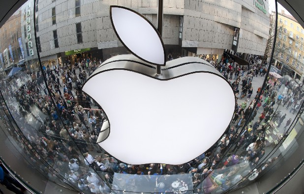 Customers wait outside the Apple store in Munich before the start of sales of the iPad2. While the economy has struggled to recover over the past two years, big U.S. companies have not only generated profits but grown them, quarter after quarter.