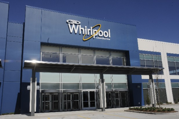 Whirlpool's 1-milion square-foot facility on Benton Pike in Cleveland.