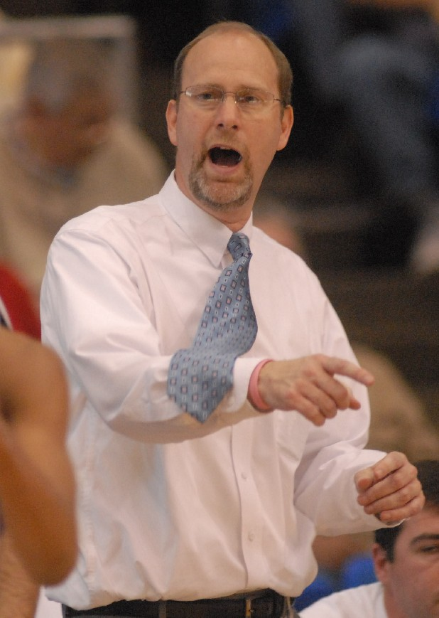 Grace Academy coach Jon Mattheiss is seen in this file photo.
