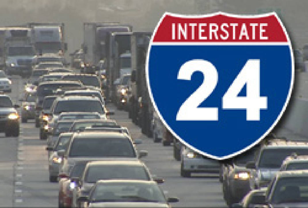 Construction on I-24 east in Coffee County | Times Free Press