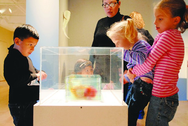 Families can enjoy the Hunter Museum for free on the Sunday of each month.