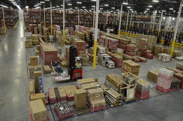 The Amazon Fulfillment Services facility in Bradley County has storage capacity equal to approximately 67,187 full-size pickup truck beds.