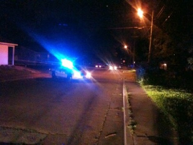 The shooting happened around 9:30 near the corner of Roanoke Avenue and Milne Street. Police believe the shooter was at the corner firing south toward Rawlings Street.