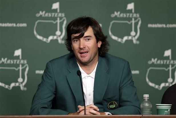 BUBBA WATSON wins Masters playoff over Oosthuizen
