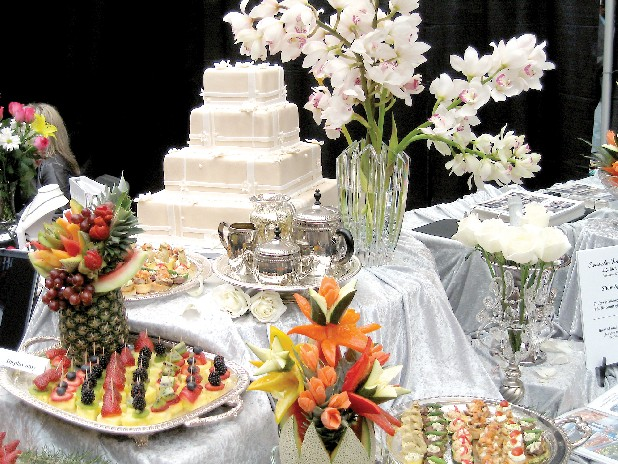 SwissAm Fine Catering on East 34th Street offers everything from box lunches to elaborate meals for weddings and conventions.