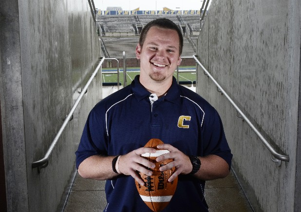 UTC defensive tackle Nick Davison suffered a career-ending injury in the game against Jacksonville State last season.