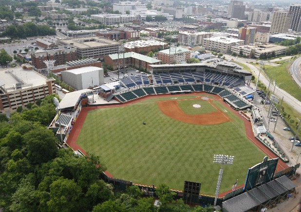 AT&T Field is the home of the Chattanooga Lookouts.