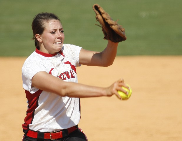 Taylor Baird of Ooltewah pitches against Walker Valley Saturday.