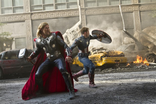 """The Avengers"" is the first of several blockbuster comic book movie adaptations to hit the screens this summer."