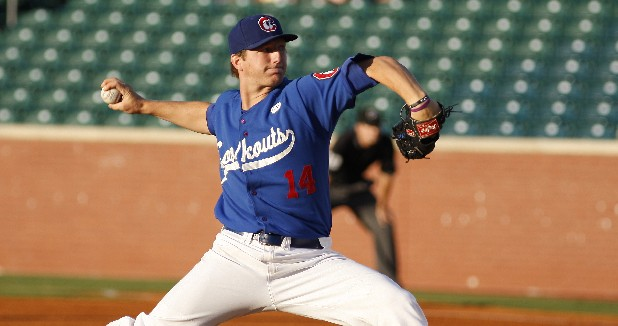Chattanooga Lookouts pitcher Ethan Martin pitches the ball in this file photo.