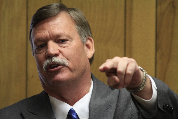 Hamilton County Mayor Jim Coppinger is seen in this file photo.