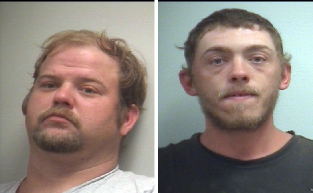 Registered sex offenders Richard Holcomb, 32, and Billy Joe Busby, 28, are charged with violating sexual offender registration laws and requirements.