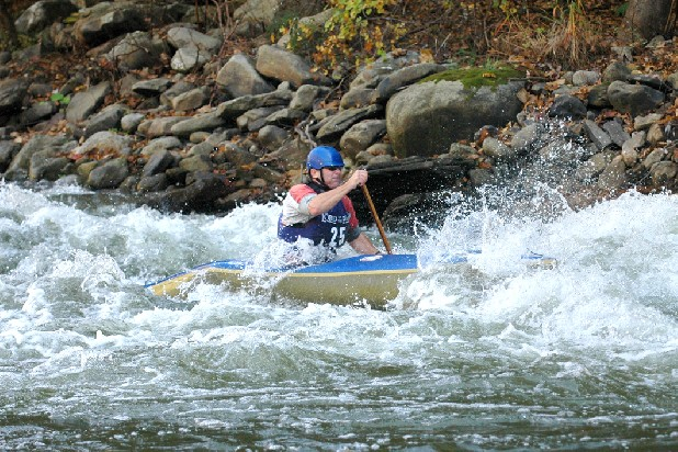 Tom Popp has joined his children in international kayaking competition, and