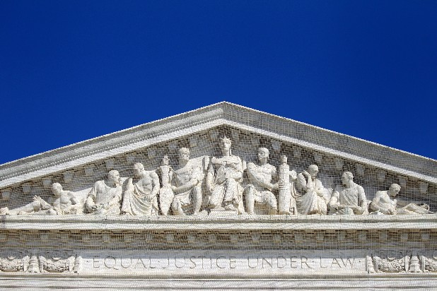 This March 22, 2012, file photo, shows the Supreme Court in Washington. A new poll finds that Americans overwhelmingly want the president and Congress to get to work on a new bill to change the health care system if the Supreme Court strikes down President Barack Obama's 2010 law as unconstitutional. That doesn't seem to be in either party's plans on the verge of the high court's verdict on the law that was aimed at extending health insurance to more than 30 million Americans who now lack coverage. (AP Photo/Haraz N. Ghanbari, File)