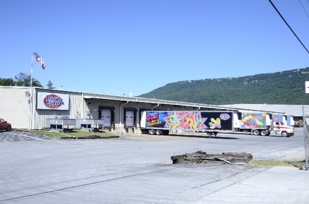 The Farley's & Sathers facility in Lookout Valley, shown Tuesday, is to be closed this fall.