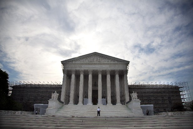 The U.S. Supreme Court in Washington ruled Monday that it is unconstitutional for state laws to require juveniles convicted of murder to be sentenced to life in prison without possibility of parole.