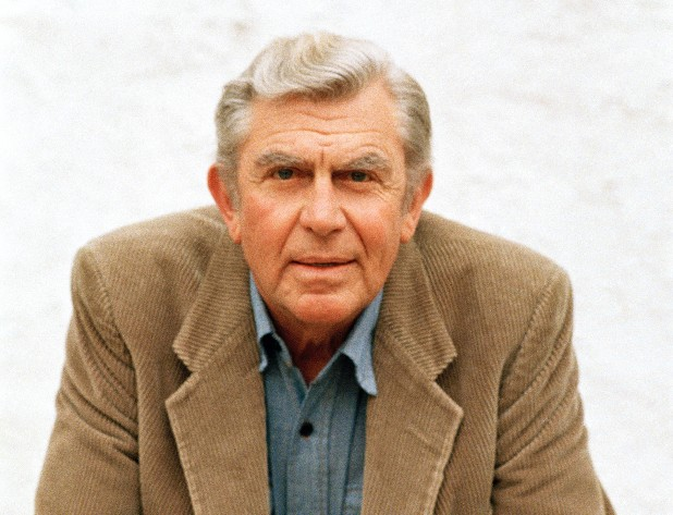 "This March 6, 1987 file photo shows actor Andy Griffith in Toluca Lake, Calif. Griffith, whose homespun mix of humor and wisdom made ""The Andy Griffith Show"" an enduring TV favorite, died Tuesday, July 3, 2012. He was 86."