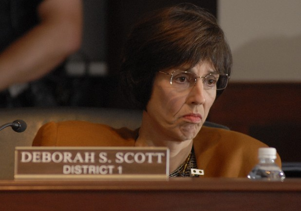 Chattanooga City Council member Deborah Scott is seen in this file photo.
