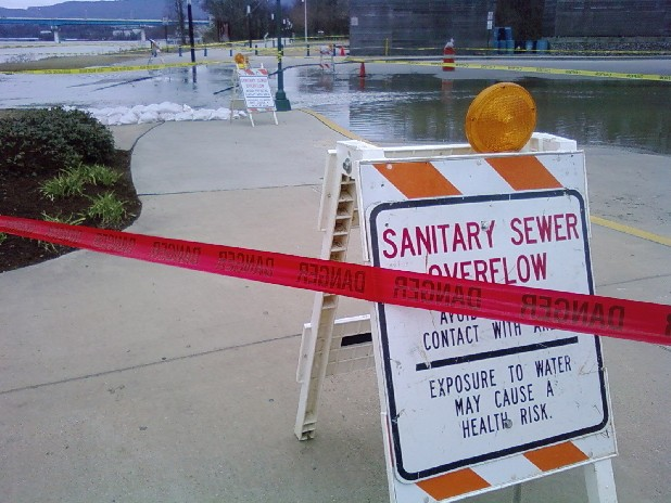 Heavy rain or pump failures can cause overflows in Chattanooga's combined sewer system, sending sewage into the streets and the Tennessee River. The city is about to unveil a consent decree under which it will spend potentially hundreds of millions of dollars to repair and refurbish the sewer system to lessen water pollution.