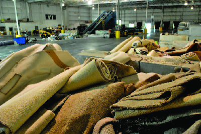 Shaw rolls out next-generation carpet reclamation program