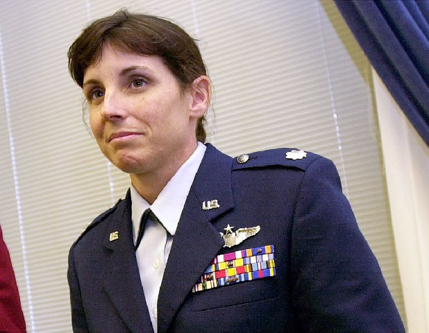 Then-Air Force Lt. Col. Martha McSally is seen on Capitol Hill in Washington. After more than a decade of wars in Iraq and Afghanistan, dozens of military veterans — Republicans and Democrats — are running for Congress this election year as voters have shown a fresh enthusiasm for candidates with no elected experience. This year, as the military has opened more jobs to women closer to the front lines, several of those veterans are females with battlefield scars and pioneering accomplishments.