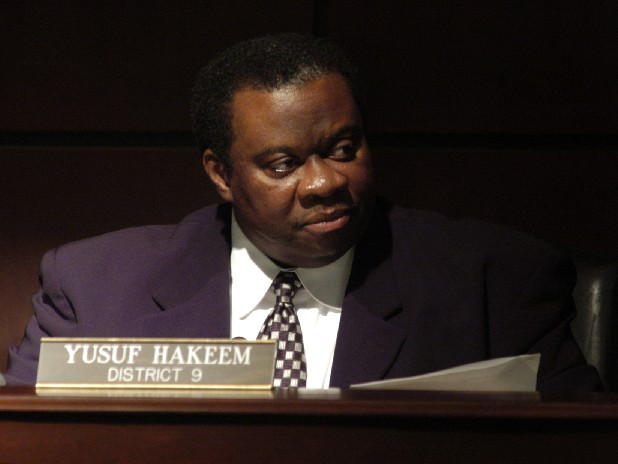 Yusuf Hakeem represents District 9.