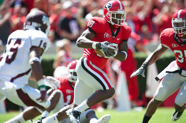 Georgia senior cornerback Sanders Commings