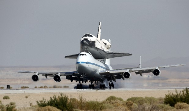kelly afb space shuttle carrier aircraft - photo #41