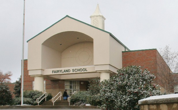 Fairyland Elementary School on Lookout Mountain