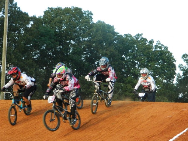 BMX riders can race before and after midnight Saturday at the Bradley BMX Birthday Bash in Cleveland, Tenn.