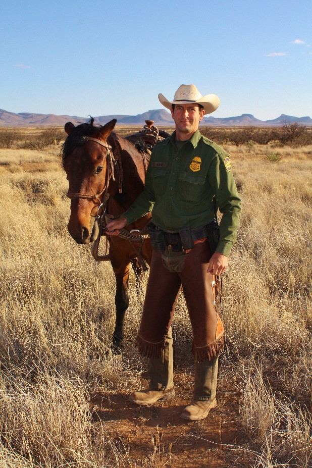 In this undated photo provided by the Ivie family, Border Patrol Agent Nicholas Ivie is seen. Ivie, a 30-year-old father of two, was shot and killed in the sparsely populated desert in southeastern Arizona early Tuesday, Oct. 2, 2012.