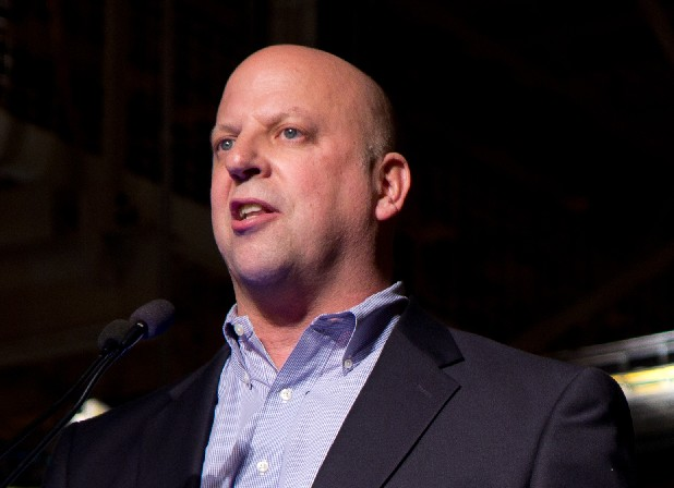This Nov. 21, 2011 file photo shows Rep. Scott DesJarlais, R-Tenn., speaks in Spring Hill, Tenn. DesJarlais, a freshman congressman running for re-election on a pro-life platform urged his pregnant mistress to get an abortion a decade ago, according to a transcript of the recorded conversation.