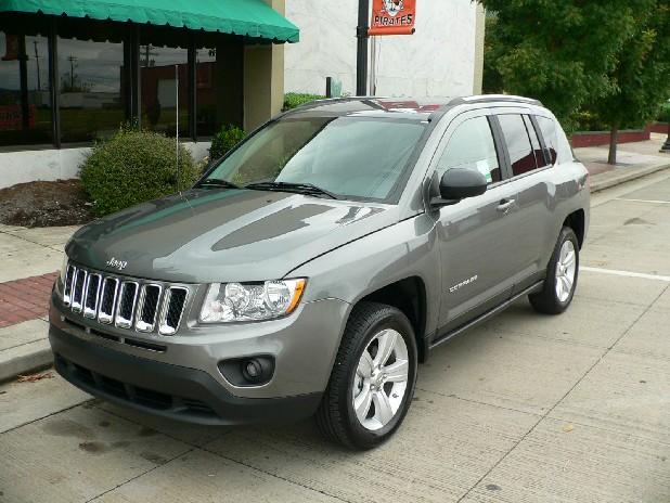 Test Drive Jeep Compass Is Pointed In The Right Direction