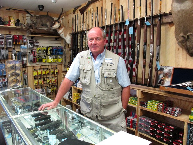 Central Wisconsin Firearms owner Frederick Prehn says he's had to expand his business to the new location in Wausau, Wis., last summer because of increased gun sales. He attributes the spike to Wisconsin's new concealed carry law as well as the uncertainty about the upcoming election. President Barack Obama is presiding over a heyday for the gun industry despite predictions he would be the most anti-gun president in history. An Associated Press analysis finds gun sales are on the rise and stocks of major gun companies are up. The number of federally licensed gun dealers is increasing for the first time in nearly 20 years. And the National Rifle Association is bursting with cash and political clout.